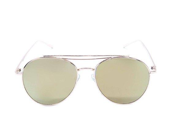 Óculos de Sol Prorider Dourado com Lente Espelhada Colors - RANGIROA