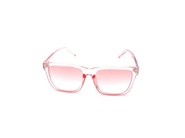 Óculos de Sol Prorider Rosa Translúcido com Lente Degradê - FY8131C5