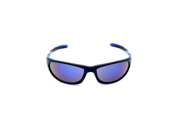 Óculos Solar Prorider AzuL com Lente Espelhda Colors - HE126