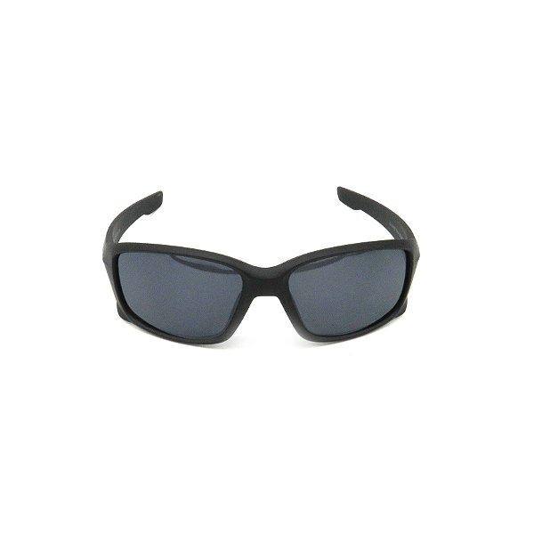 Óculos de Sol Prorider Preto Fosco com Lente Fumê - 2523C3