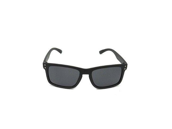 Óculos de Sol Prorider Preto Fosco com Lente Fumê - VC9030C1