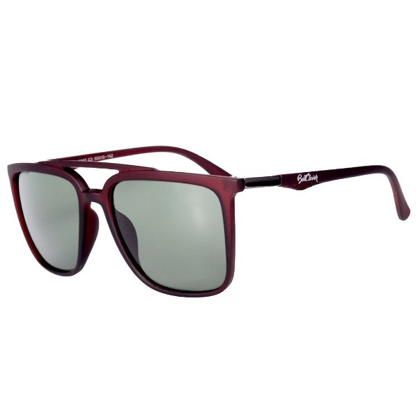 Óculos de Sol Feminino BellClover Marrom Fosco com Lente Degrade