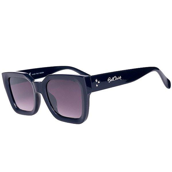 Óculos de Sol Feminino BellClover Azul Escuro com Lente Degrade