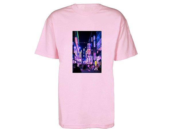 Camiseta Prorider Zeno On Rosa Claro com Bolso Retangular Vertical estampado - ZOCAM04