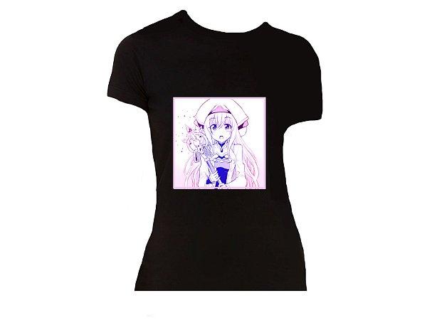 Camiseta Prorider Zeno On Preta com estampa Quadrada - ZOCAM15