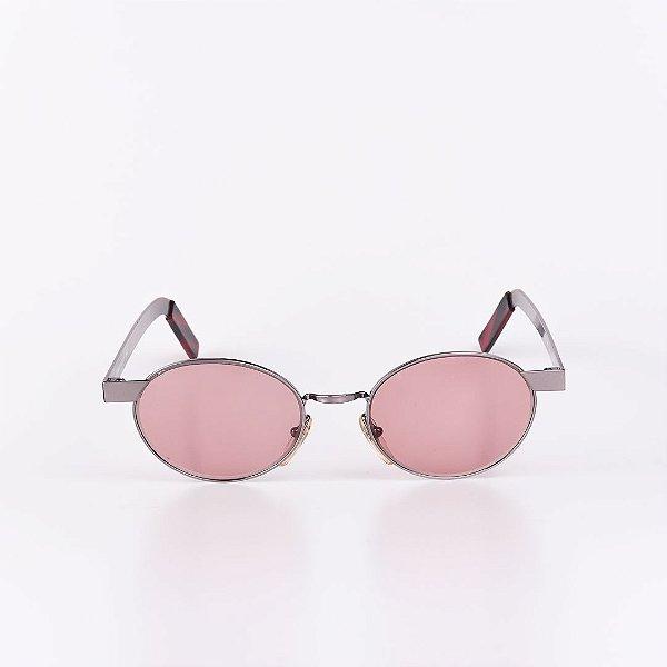 Óculos de Sol Feminino Robert La Roche Grafite com Lente Rosa - RROCS105M63-1