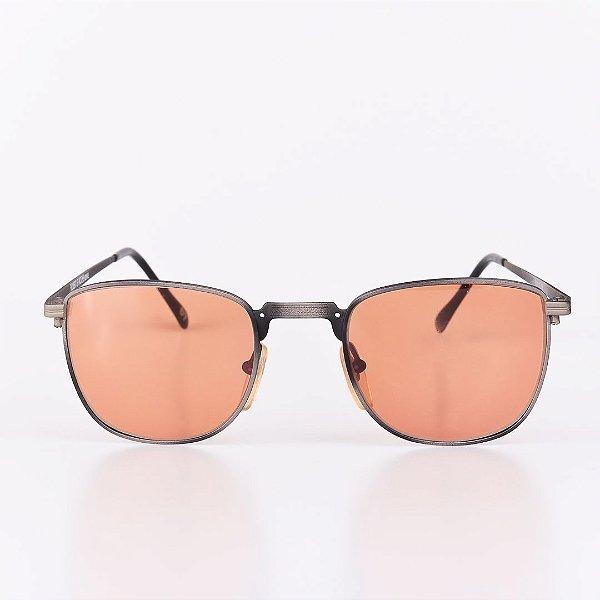 Óculos de Sol Masculino Robert La Roche Dourado com Degrade Preto - RROCS67
