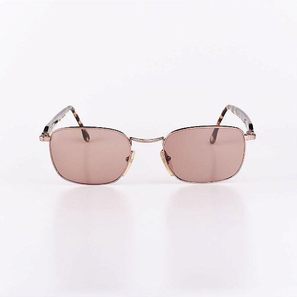 Óculos de Sol Robert La Roche Dourado Animal Print - RROCSCA138