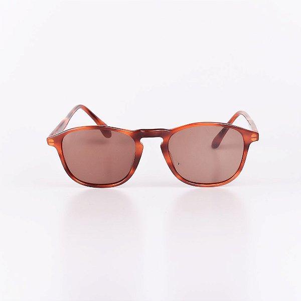 Óculos de Sol Feminino Robert La Roche Marrom Mesclado com Lente Marrom - RROCSCA70