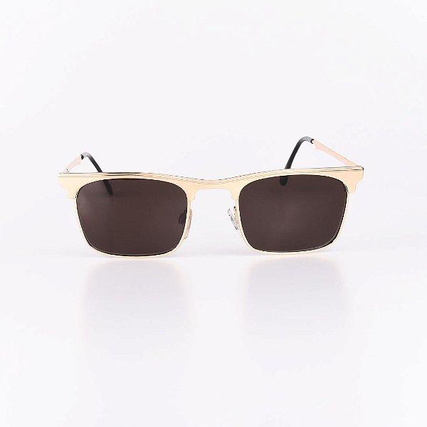 Óculos de Sol Masculino Robert La Roche Dourado - RROCSEUROPA