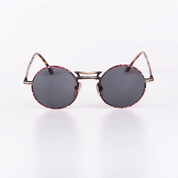 Óculos de Sol Feminino Robert LA Roche Mescla e Dourado com Lente Fumê- RROCSLR336