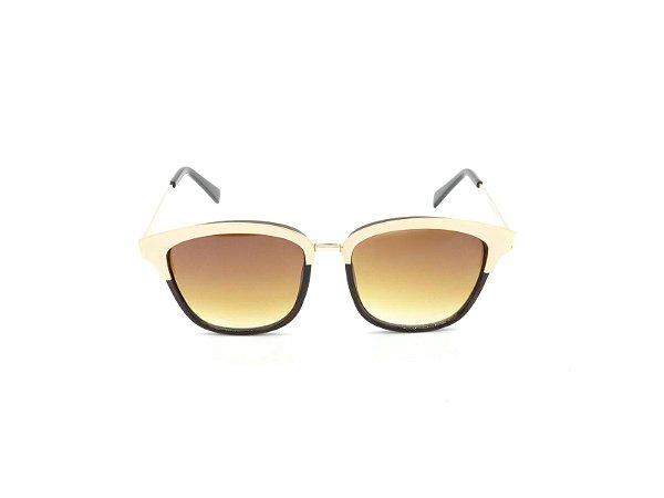 Óculos de Sol Prorider Marrom com Dourado e Lente Degrade - DO71024C4