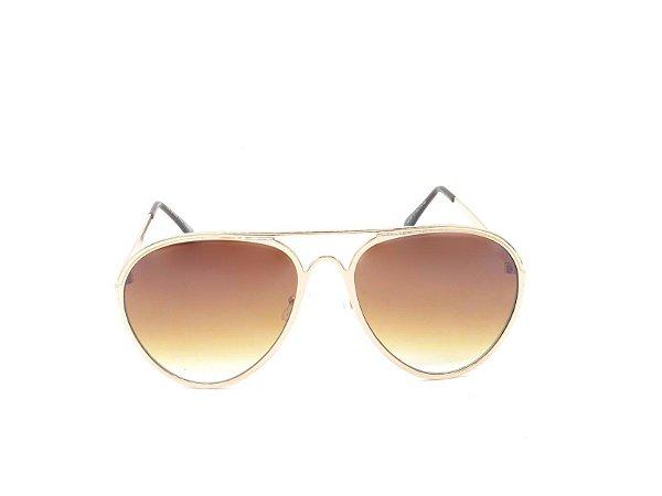 Óculos Solar Prorider Dourado com Lente Degrade - H01591C1