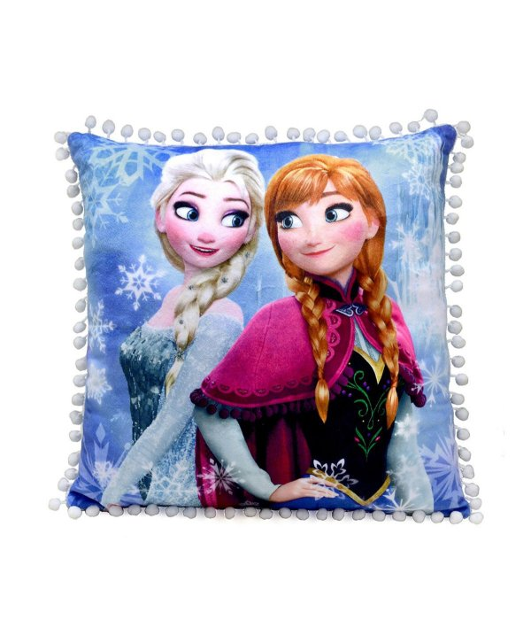 Almofada Frozen Azul 40x40cm - Disney