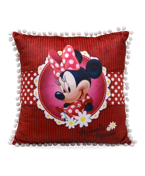 Almofada Minnie Vermelha 40x40cm - Disney