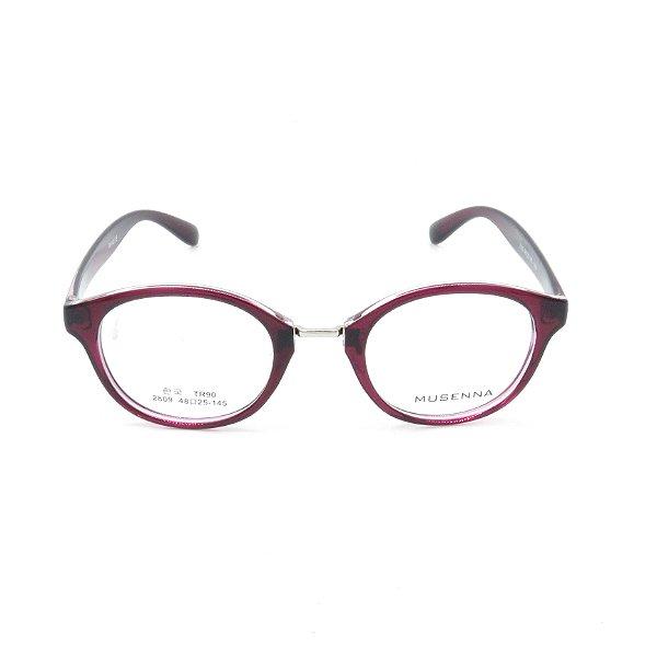 Óculos Receituário Prorider Vermelho Translúcido e Dourado - 2809C66