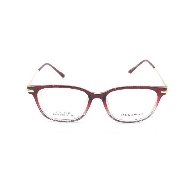 Óculos Receituário Prorider Vermelho e Translúcido - 2823c119