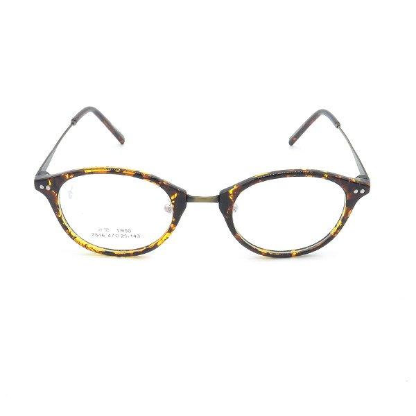 Óculos Receituário Prorider Arredondado Animal Print - 2846C55