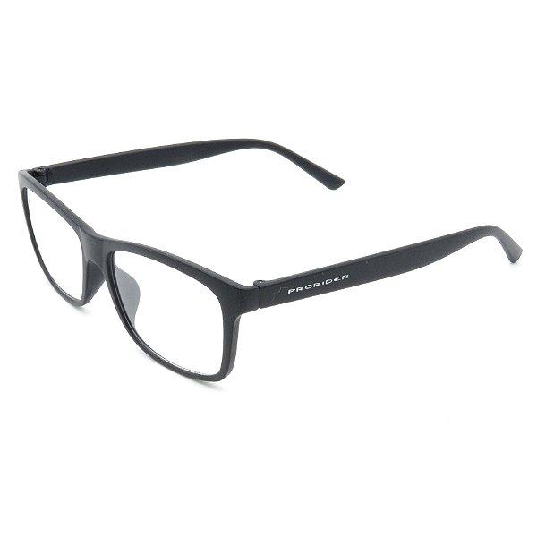 Óculos Receituário Prorider Retangular Preto - 51115