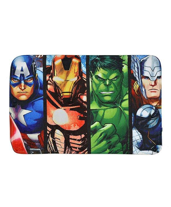 Tapete de Banho Vingadores 58x38cm - Marvel