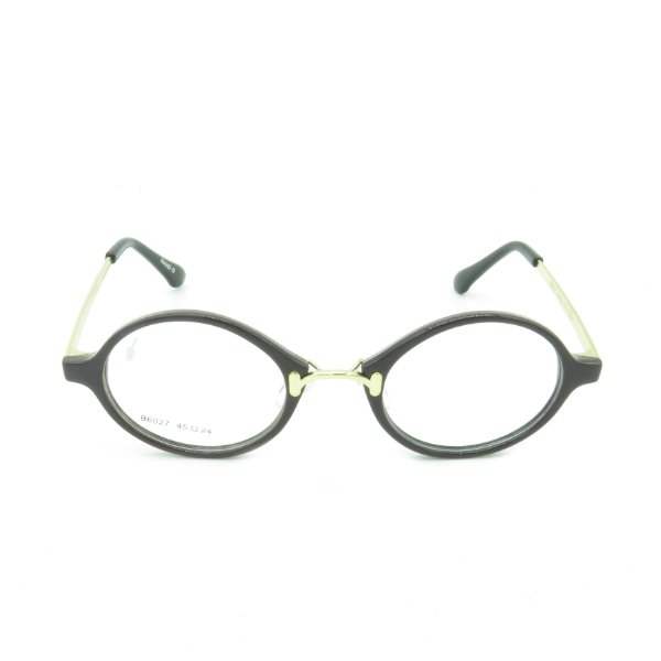 Óculos Receituário Prorider Arredondado Preto e Dourado - b6027c52