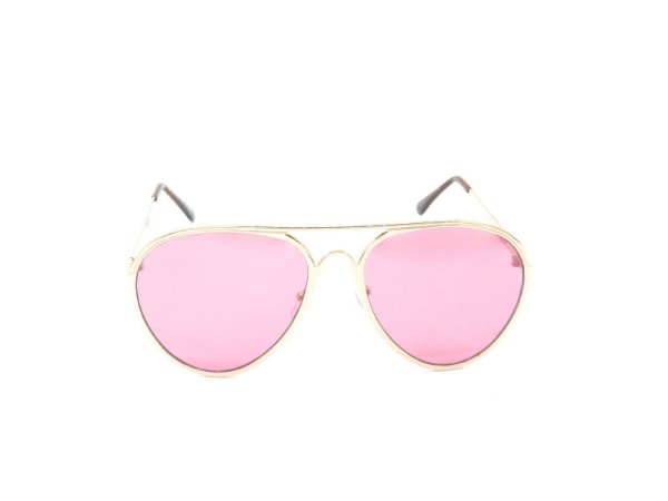 Óculos de Sol Prorider Dourado com Lente Rosa - H01591C3