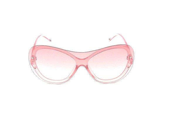 Óculos de Sol Prorider Rosa Translucido com Lente Degradê- YD1831C6