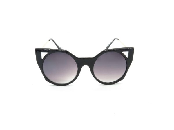 Óculos de Sol Prorider Preto com Dourado e Lente Degradê - YD1834C1