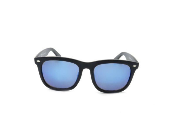 Óculos de Sol Prorider Preto com Lente Espelhada Azul - YD1709C1