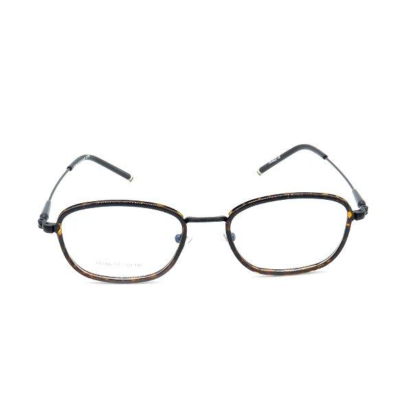 Óculos Receituário Prorider Quadrado Animal Print com Preto - h0066c10b