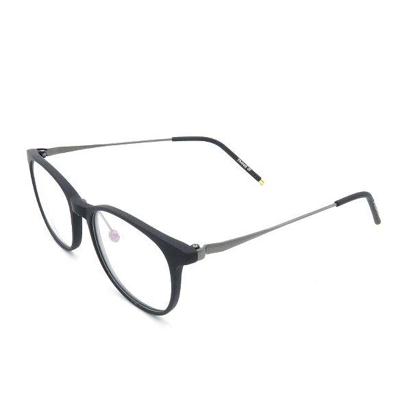 Óculos Receituário Prorider Quadrado Preto com Grafite -  k-1314-50-1