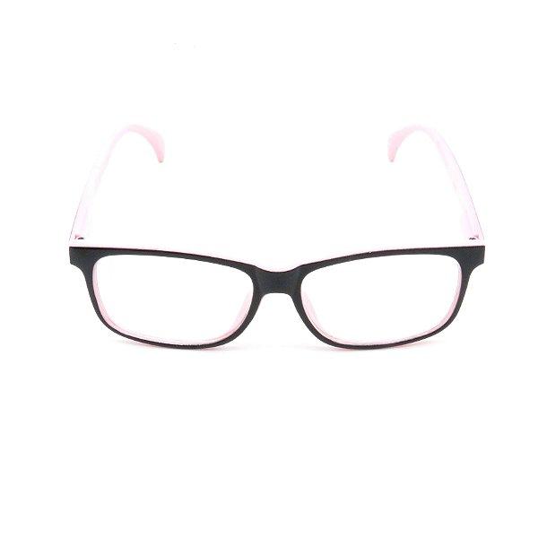 Óculos Receituário Prorider Preto e Rosa Claro - gp001