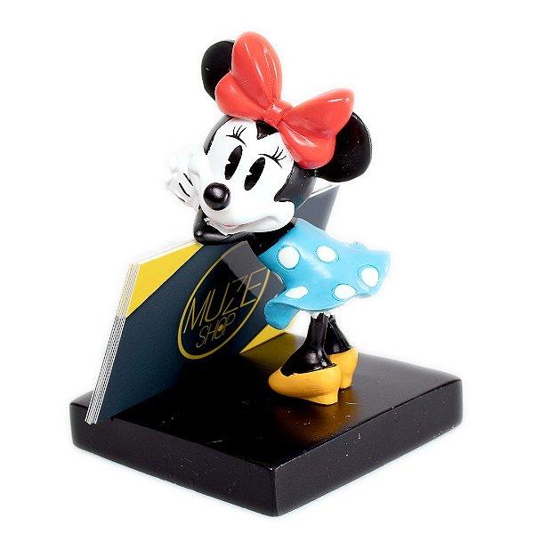 Porta Cartão Minnie 16,5x12,4x12,4cm - Disney