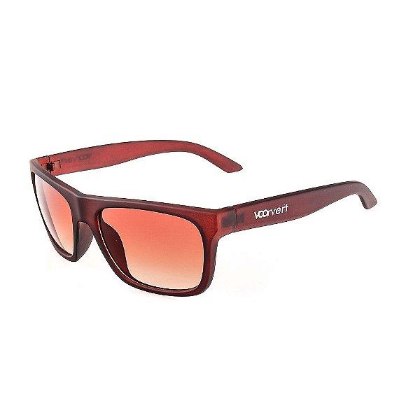 Óculos de Sol Voor Vert Retangular  Marrom Fosco - VVOCSGP209