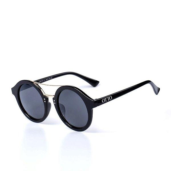Óculos de Sol OTTO - Preto com Dourado