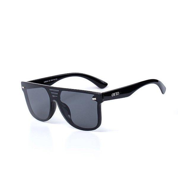 Óculos de Sol OTTO - Preto Quadrado Moderno
