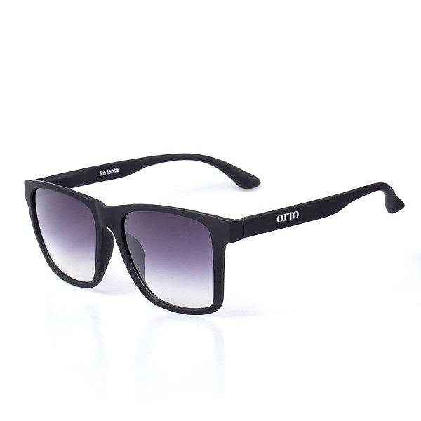 Óculos de Sol OTTO - Preto Fosco Quadrado