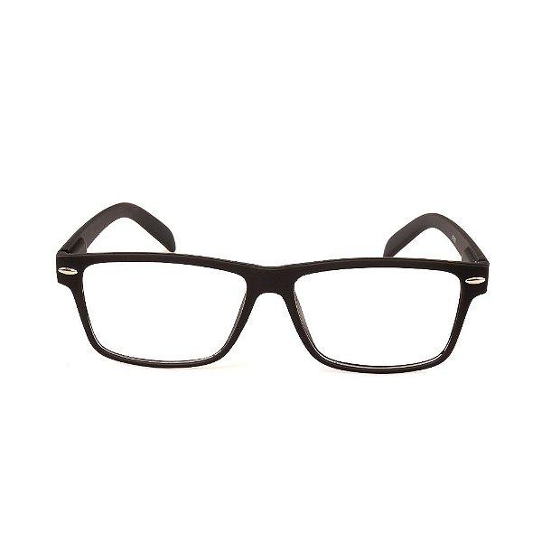 Óculos Receituário Titania Preto Fosco