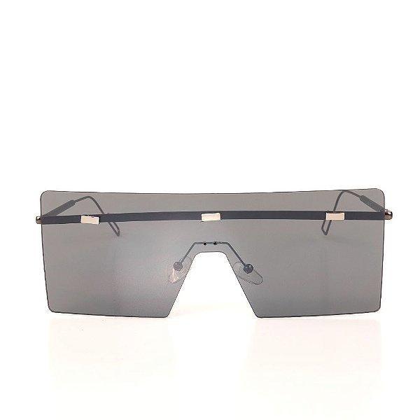 Óculos de Sol Titania Mascara Preto com Prata