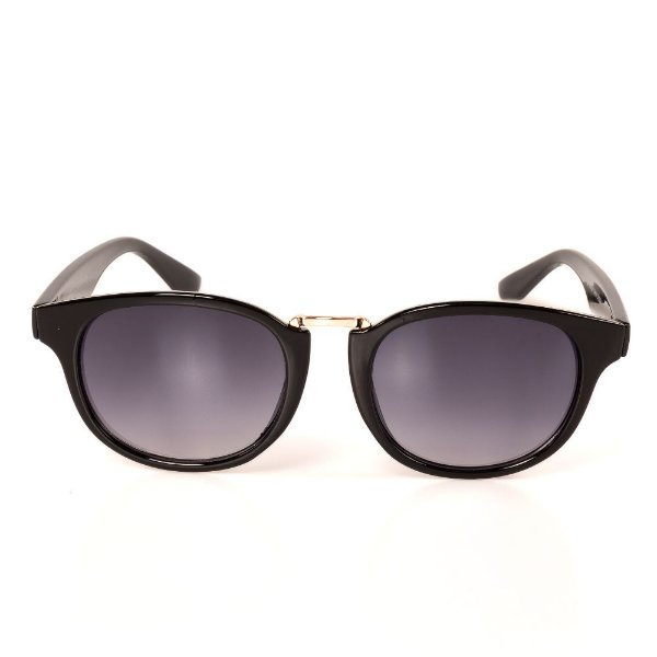 Óculos de Sol Titania Preto com Dourado