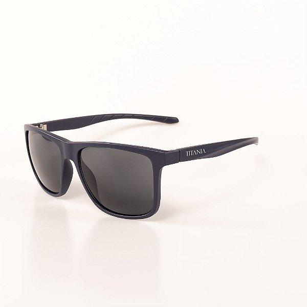 Óculos de Sol Titania Azul Escuro Fosco