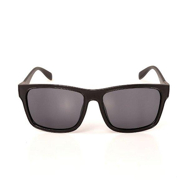 Óculos de Sol Titânia Preto Fosco Quadrado