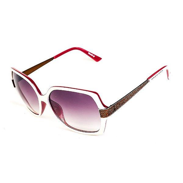 Óculos de Sol Titânia Clássico Branco