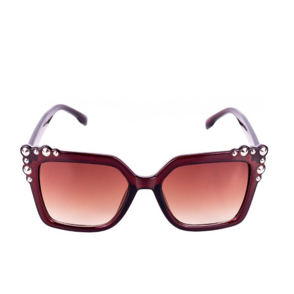 Óculos de Sol Feminino Conbelive Marrom