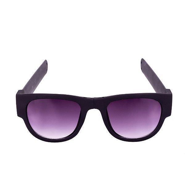 Óculos de Sol Conbelive Esportivo Flexivel Preto Fosco