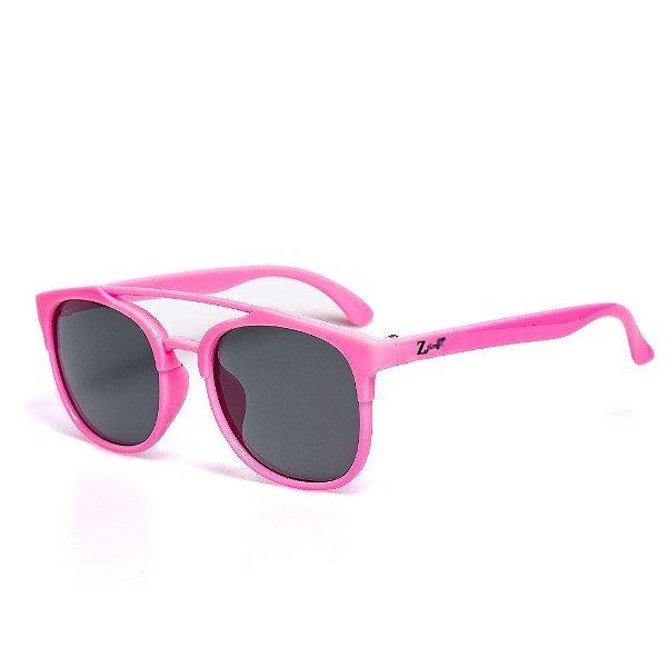 Óculos de Sol Infantil ZJim Wayfarer Rosa