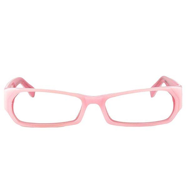 Óculos de Grau Retro Prorider Rosa com Detalhe Branco - AWN