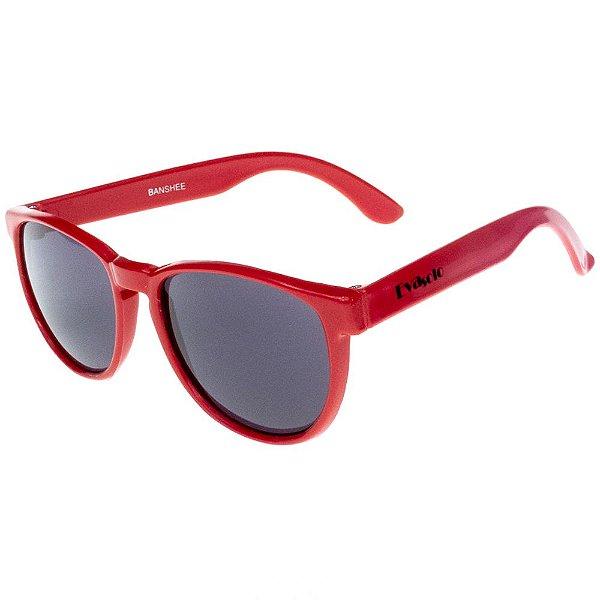 Óculos De Sol Infantil Eva Solo Arredondado Vermelho
