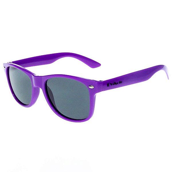 Óculos De Sol Infantil Eva Solo Quadrado Roxo