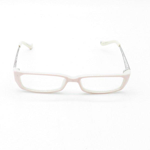 Óculos de Grau Retro Prorider Rosa e Branco - YG8560C5